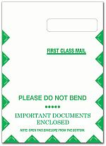 Jumbo CMS-1500 Envelope, Right Window, Self Seal- BLANK 100/pk