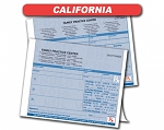 California State Authorized Rx Pads,2 Part, 50 sets per pad, 18 book min