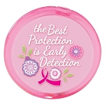 Pink Compact Mirror, 10/pk, Product Size: 2 5/8